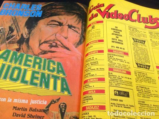 Cine: PANTALLA 3 VIDEO - Nº 26 - 1985 - LISTA OFICIAL DE PELICULAS (II) - Foto 16 - 157235362