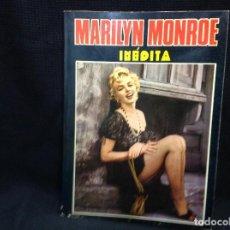 Cine: MARILYN MONROE INÉDITA. PRODUCCIONES EDITORIALES 1976. . Lote 157265390