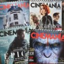 Cine: PACK REVISTAS CINEMANIA ANTIGUAS. Lote 157746190
