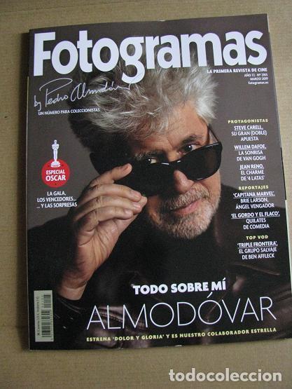 FOTOGRAMAS Nº2105 (EN PORTADA:ALMODOVAR) ¡¡LEER DESCRIPCION!! (Cine - Revistas - Fotogramas)