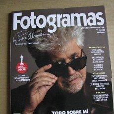 Cine: FOTOGRAMAS Nº2105 (EN PORTADA:ALMODOVAR) ¡¡LEER DESCRIPCION!!. Lote 158019450