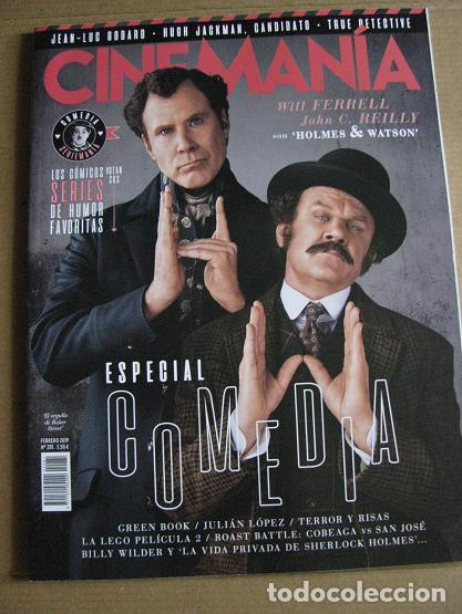 CINEMANIA Nº281 (EN PORTADA:HOLMES & WATSON) ¡¡LEER DESCRIPCION!! (Cine - Revistas - Cinemanía)
