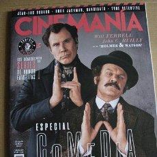 Cine - CINEMANIA Nº281 (EN PORTADA:HOLMES & WATSON) ¡¡LEER DESCRIPCION!! - 158025810