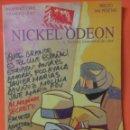 Cine: REVISTA NICKEL ODEON NÚMERO 1. Lote 158137873