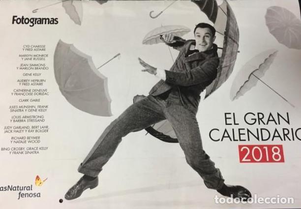 CALENDARIO REVISTA FOTOGRAMAS 2018 (Cine - Revistas - Fotogramas)