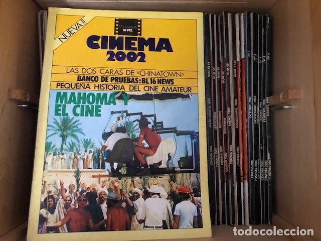 COLECCION COMPLETA CINEMA 2002 Y CINEMA 2001 (Cine - Revistas - Cinema)