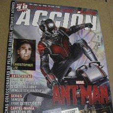 Cine: ACCIÓN Nº1507 (EN PORTADA:ANT-MAN) ¡¡LEER DESCRIPCION!!. Lote 158316982