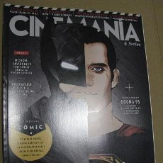 Cine - CINEMANIA Nº239 (EN PORTADA:BATMAN CONTRA SUPERMAN) ¡¡LEER DESCRIPCION!! - 158352834