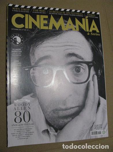 CINEMANIA Nº240 (EN PORTADA:WOODY ALLEN) ¡¡LEER DESCRIPCION!! (Cine - Revistas - Cinemanía)