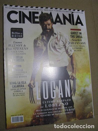 CINEMANIA Nº258 (EN PORTADA:LOGAN) ¡¡LEER DESCRIPCION!! (Cine - Revistas - Cinemanía)