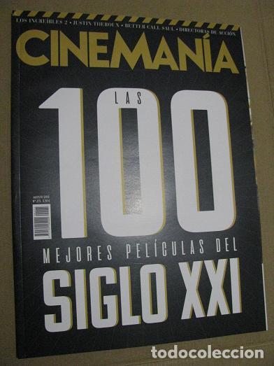 CINEMANIA Nº275 (EN PORTADA:LAS 100 MEJORES PELICULAS DEL SIGLO XXI) ¡¡LEER DESCRIPCION!! (Cine - Revistas - Cinemanía)