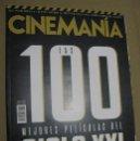 Cine: CINEMANIA Nº275 (EN PORTADA:LAS 100 MEJORES PELICULAS DEL SIGLO XXI) ¡¡LEER DESCRIPCION!!. Lote 158374574