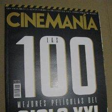 Cine - CINEMANIA Nº275 (EN PORTADA:LAS 100 MEJORES PELICULAS DEL SIGLO XXI) ¡¡LEER DESCRIPCION!! - 158374574
