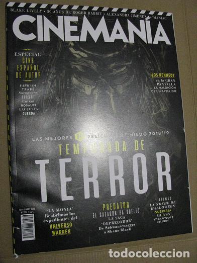 CINEMANIA Nº276 (EN PORTADA:PREDATOR) ¡¡LEER DESCRIPCION!! (Cine - Revistas - Cinemanía)
