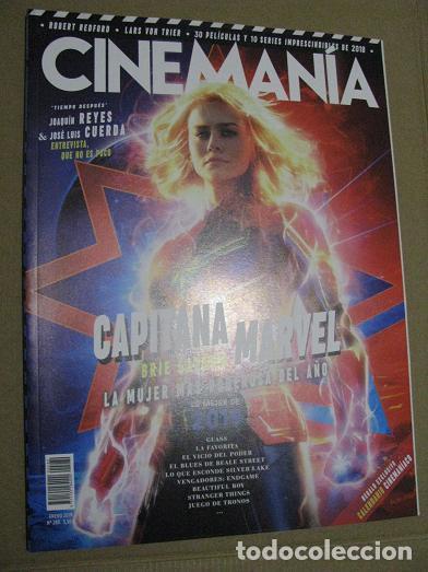 CINEMANIA Nº280 (EN PORTADA:CAPITANA MARVEL) ¡¡LEER DESCRIPCION!! (Cine - Revistas - Cinemanía)