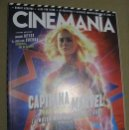 Cine: CINEMANIA Nº280 (EN PORTADA:CAPITANA MARVEL) ¡¡LEER DESCRIPCION!!. Lote 158379802