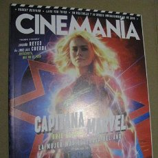 Cine - CINEMANIA Nº280 (EN PORTADA:CAPITANA MARVEL) ¡¡LEER DESCRIPCION!! - 158379802