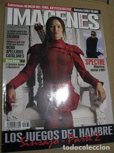 IMAGENES Nº362 (EN PORTADA:LOS JUEGOS DEL HAMBRE SINSAJO-PARTE 2) ¡¡LEER DESCRIPCION!! (Cine - Revistas - Imágenes de la actualidad)