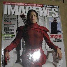 Cine: IMAGENES Nº362 (EN PORTADA:LOS JUEGOS DEL HAMBRE SINSAJO-PARTE 2) ¡¡LEER DESCRIPCION!!. Lote 158389754