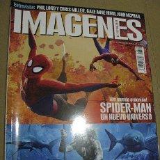 Cine: IMAGENES Nº396 (EN PORTADA:SPIDERMAN UN NUEVO UNIVERSO/AQUAMAN) ¡¡LEER DESCRIPCION!!. Lote 158395566