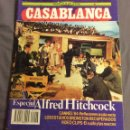 Cine: PAPELES DE CINE CASABLANCA N- 43. ESPECIAL HITCHCOCK, CANNES 84. Lote 158539434