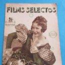 Cine: FILMS SELECTOS. AÑO VI, Nº 254. 31 DE AGOSTO DE 1935.. Lote 158643386