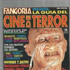 Cine: FANGORIA GUIA CINE TERROR. Lote 158717726