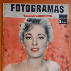 Cine: FOTOGRAMAS Nº 309 - 1954 ELEANOR PARKER WUILLIAM HOLDEN GRACE KELLY AUDREY HEPBURN . Lote 158731702
