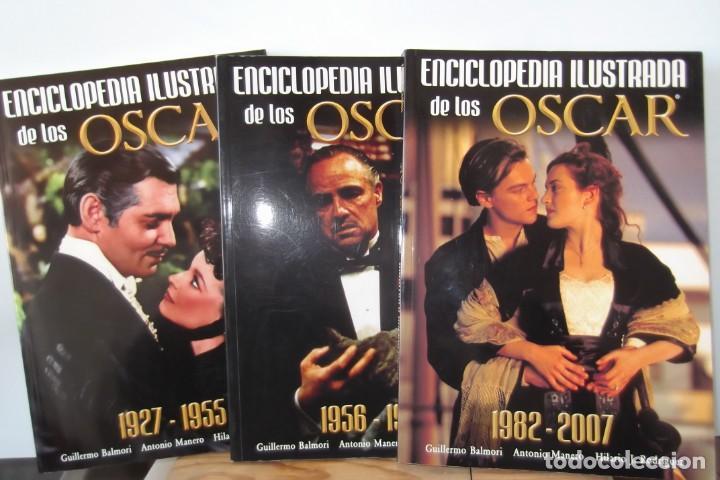 ENCICLOPEDIA ILUSTRADA DE LOS OSCAR-DE 1927 A2007. (Cine - Revistas - La Gran Historia del cine)