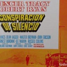 Cine: -CONSPIRACION DEL SILENCIO-SPENCER TRACY-ROBER RYAN-1972. Lote 158906186