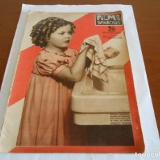 Cine: FILMS SELECTOS NUMERO 261 DE 1935 SHIRLEY TEMPLE Y PRECIOSO POSTER CENTRAL. Lote 159155974