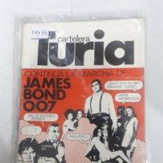 Cinema: 14473 - CARTELERA TURIA Nº 820 - AÑO 1979. Lote 159358418