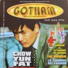 Cine: GOTHAM REVISTA DE CINE FANTÁSTICO Nº 2.1999.CHOW YUN FAT.RICHARD ELFMAN.GOOMER.LA SOMBRA DEL FARAON.. Lote 159419594