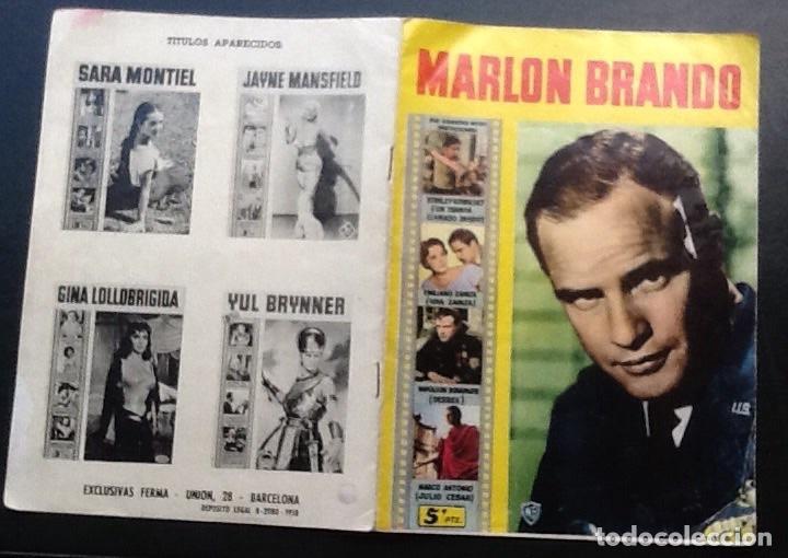 REVISTA MONOGRÁFICA MARLON BRANDO, ED. FERMA CINECOLOR Nº 13 (Cine - Revistas - Cinecolor)