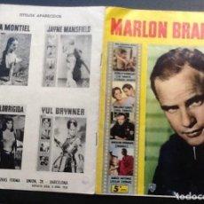 Cine: REVISTA MONOGRÁFICA MARLON BRANDO, ED. FERMA CINECOLOR Nº 13. Lote 159442202