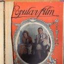 Cine: POPULAR FILMS. TOMO ENCUADERNADO DEL 1 AL 52 (INCLUYE EXTRAORDINARIO DE 1926). Lote 159529962