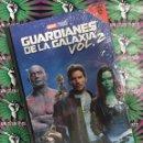 Cine: GUARDIANES DE LA GALAXIA VOL. 2 MARVEL STUDIOS DVD + LIBRO #04. Lote 159608586