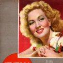 Cine: REVISTA CINEMA Nº 20 1947 - ANN SOTHERN - TYRONE POWER. Lote 159619010