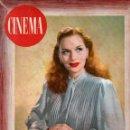 Cine: REVISTA CINEMA Nº 37-38 1947 - EXTRAORDINARIO - GRETA GRYNT . Lote 159620722