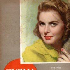 Cine: REVISTA CINEMA Nº 27 1947 - INGRID BERGMAN - FRED MCMURRAY. Lote 159621446