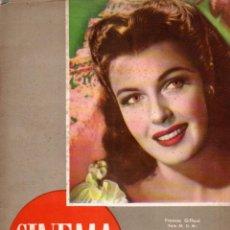 Cine: REVISTA CINEMA Nº 29 1947 - FRANCES GIFFORD - ROBERT TAYLOR. Lote 159622170