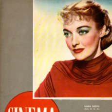 Cine: REVISTA CINEMA Nº 35 1947 -KARIN BOOTH - JAMES CRAIG. Lote 159622322