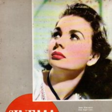 Cine: REVISTA CINEMA Nº 36 1947 -JEAN SIMMONS - CORNEL WILDE. Lote 159622434