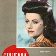 Cine: REVISTA CINEMA Nº 42 1948 - MARGARET LOCKWOOD - DONALD O'CONNER. Lote 159622886