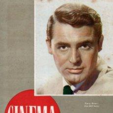 Cine: REVISTA CINEMA Nº 43 1948 - CARY GRANT. Lote 159623130