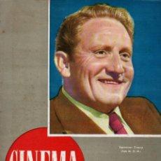 Cine: REVISTA CINEMA Nº 44 1948 - SPENCER TRACY. Lote 159623222