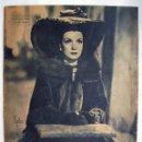 Cine: CONCHITA MONTENEGRO. REVISTA PRIMER PLANO. 1944.. Lote 159684778