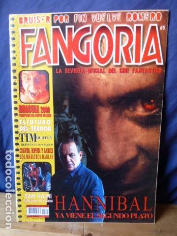 FANGORIA N.5 (Cine - Revistas - Fangoria)