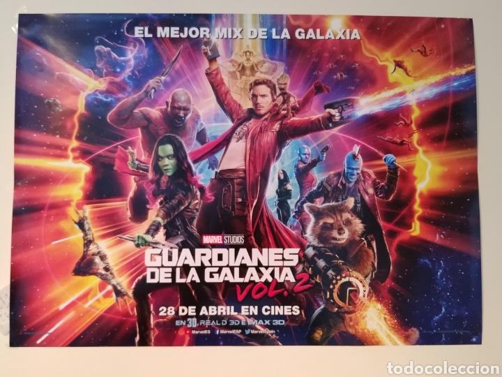 CARTEL ORIGINAL GUARDIANES DE LA GALAXIA VOL 2 67X48 (Cine - Revistas - Acción)