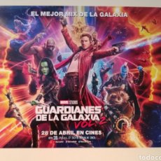 Cine: CARTEL ORIGINAL GUARDIANES DE LA GALAXIA VOL 2 67X48. Lote 159814176